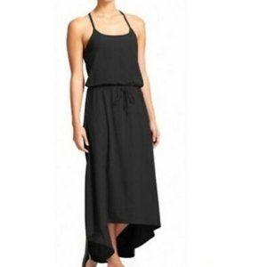 Athleta Malti Patio Black Maxi Dress
